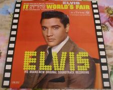 ELVIS PRESLEY IT'S HAPPENED AT THE WORLD'S FAIR ITALY RCA VICTOR ORIGINAL LP