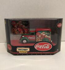 1999 Matchbox Coca Cola 1937 Dodge Airflow CHRISTMAS Car/Truck - NIB