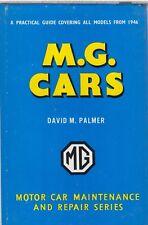 MG MIDGET TC TD TF Y YB MGA MGB MAGNETTE & 1100 (1946-66) REPAIR HANDBOOK *VGC*