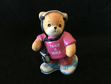 Lucy & Me Take A Hike Bear With Radio & Headset Lucy Rigg Enesco 1992