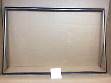 JENN-AIR S160  stove Range oven door black and chrome  frame  # 704997