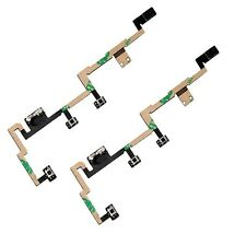 2 X  Power Flex Cable - Mute Switch - Volume Buttons - Power Button For iPad 2