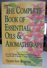 Complete Book of Essential Oils & Aromatherapy recipes guide HOW TO USE beginner