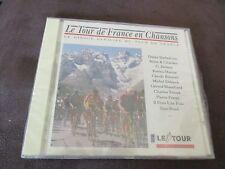 """CD """"LE TOUR DE FRANCE EN CHANSONS"""" Stone et Charden, Les Chats Sauvages, .."""