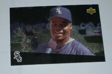 New listing Upper Deck Folz Mini Foil Card Baseball 1996 Frank Thomas White Sox #2 Rare Card