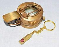 MILITARY ENGINEERING BRASS COMPASS PRISMATIC VINTAGE NAUTICAL STYLE HANDMADE NEW