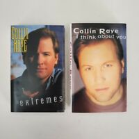 Collin Raye - 2 Cassette Lot - I Think About You + Extremes