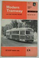 March 1963 Modern Tramway & Light Railway Review Magazine I Allan Vol 26 No 303