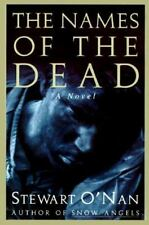 The Names Of The Dead By Stewart O'Nan Used Book Hardback W/Dust Cover