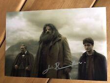 Jim Broadbent Harry Potter Signed 12x8 Photo.  Daniel Radcliffe / JK Rowling.