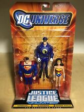 Justice League Unlimited Blackhawk 3 Pack Superman Wonder Woman 2008 RARE