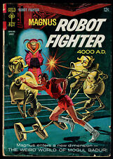 1966 Gold Key Magnus Robot Fighter #15 GD + Image Freak Force comics # 3(1) 7 10