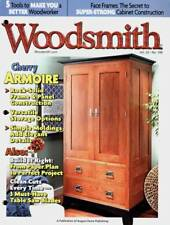 WOODSMITH 2012 CHERRY ARMOIRE  TABLE SAW BLADES SIMPLE MOLDINGS