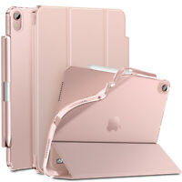 INFILAND Tri-Fold Slim Case for iPad Air 4th Generation 10.9 inch 2020 Release