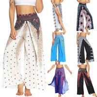 Women Harem Pants Thai Yoga Beach Baggy Harem Boho Hippie Wide Legging Trousers