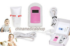 Pocket Prenatal Fetal Doppler, Baby Heart beat Monitor, LCD,Free GEL US seller