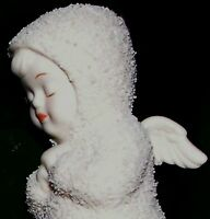 "Department 56 Snowbabies Kneeling Angel ""Now I Lay Me Down.."" night prayers NIB"