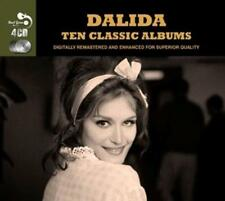 New 10 Classic Albums-Dalida CD 4 box