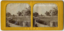 Stereophoto, Stereofoto, transparent, bei Martigny, Schweiz um 1880.
