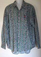 Hang Ten mens Vintage Hippy Surf Skate Casual shirt long sleeves Size XL EUC