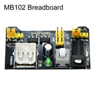 2PCS MB102 Breadboard Power Supply Module 3.3V 5V For Arduino Solderless