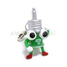 Tein Dampachi Keychain Key Holder Key Ring Green JDM TN016-005 Genuine