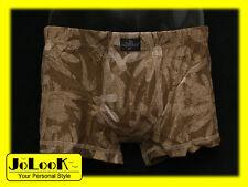 TRAMONTE Intimo Uomo Boxer anatomico cotone elastico tg.4' colore marrone