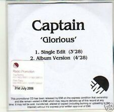 (J587) Captain, Glorious - DJ CD