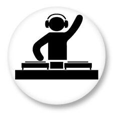Porte clé Keychain Ø45mm Picto Disque Vynil DJ Platine Music Musique