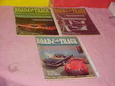 LOT 4 ROAD AND TRACK 1966 - 1968 TRIUMPH TR-4A BIZZARRINI GT SHELBY  Magazines