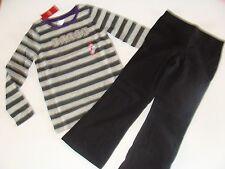 Gymboree Dance Team Girls Size 5 Black Pants Size 4 Shirt Top Set NWT NEW