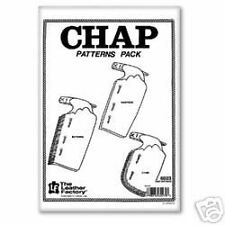 Tandy Chap Patterns Pack 6023-00 Tandy Leather