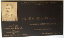 1880s Business Card, Waverly, N.Y. Photographer