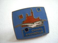 PINS RARE CANAL MARSEILLE PORT NOTRE DAME DE LA GARDE MOUETTE
