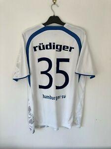 RUDIGER Hamburger SV Home Football Shirt 2006/07 XL Extra Large 06/07 Hamburg