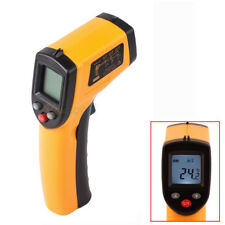 Infrared IR Thermometer Digital Temperature Temp Gun Sensor Measuring Heat Laser