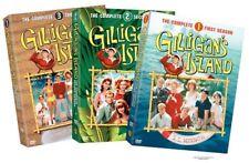 Gilligans Island Complete Bob Denver TV Series All Season 1-3 DVD Set Collection