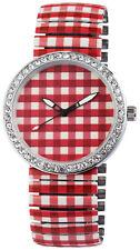 Excellanc Damen Armbanduhr Metallzugband Zugband Uhr Tracht Dirndl Oktoberfest