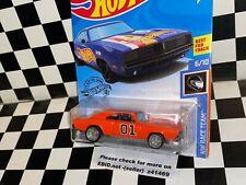 "Hot Wheels 1969 Dodge Charger - ""GENERAL LEE - DUKES OF HAZZARD"" custom"