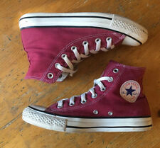 Converse All Star - Maroon / Burgundy - UK Size 5 EUR 37.5 Trainers