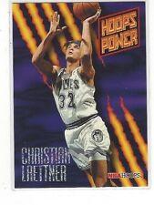 1994-95 HOOPS BASKETBALL POWER RATINGS CHRISTIAN LAETTNER #PR31 - TIMBERWOLVES