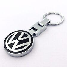 Car Key Chain double side Logo Metal Alloy keyring key holder For Volkswagen