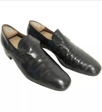 Vintage Bally mens tuxedo patent leather shoes Size 11