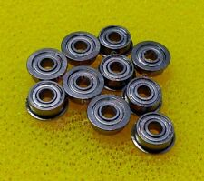 10 PCS - SF682zz (2x5x2.3 mm) 440c Stainless Steel FLANGED Ball Bearings 2*5*2.3