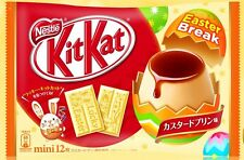Japanese NESTLES kitkat kit kats EASTER 2017 custard pudding flavor 12P candy