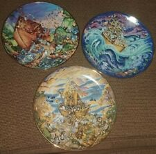 Two By Two, Noah'S Ark, Before The Rain Bill Bell Franklin Mint Plates Limited