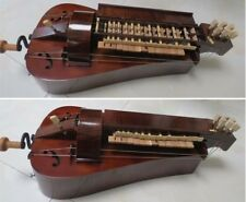 New ListingHand Made maple wood 6 strings 23 keys beautiful Hurdy Gurdy ,free with case #2