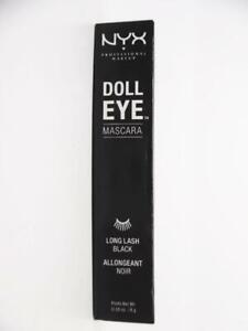 NYX Professional Makeup Doll Eye Mascara, Long Lash - Black - 0.28 oz.