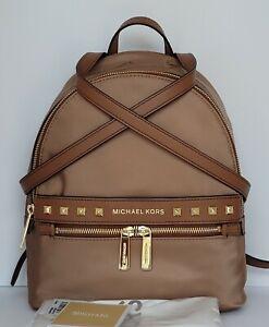 Michael Kors Kenly Dark Khaki Md Backpack . NWT $398