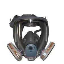 For 3M 6800+6001 7 piece suit Facepiece Respirator painting Spray Gas Mask SJL